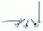 Boîte de 200 Vis de Poêlier tête ronde plate Ø 4 de 40 à 50 mm ROCKET