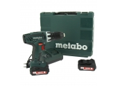 Perceuse visseuse sans-fil 14.4V Metabo BS 14.4 Li + 2 batteries 2 Ah