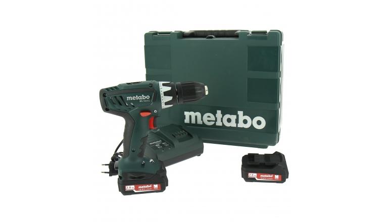 Perceuse visseuse sans-fil 14.4V Metabo BS 14.4 Li + 2 batteries 2 Ah
