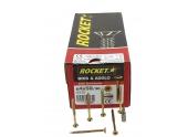 Boîte de 150 Vis à tête fraisée Torx Filetage partiel Ø 6 de 70 à 100 mm ROCKET