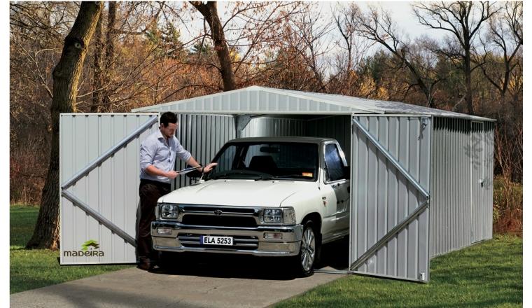 Garage en Métal MELTON Madeira 13.20 m² Ref 2173