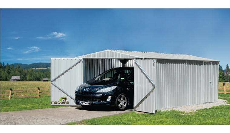 Garage en Métal MACKAY Madeira 17.58 m² Ref 2174