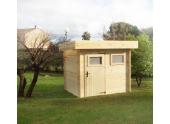 Abri de Jardin en Bois MIKKI Madeira 3.91 m² Ref 2274