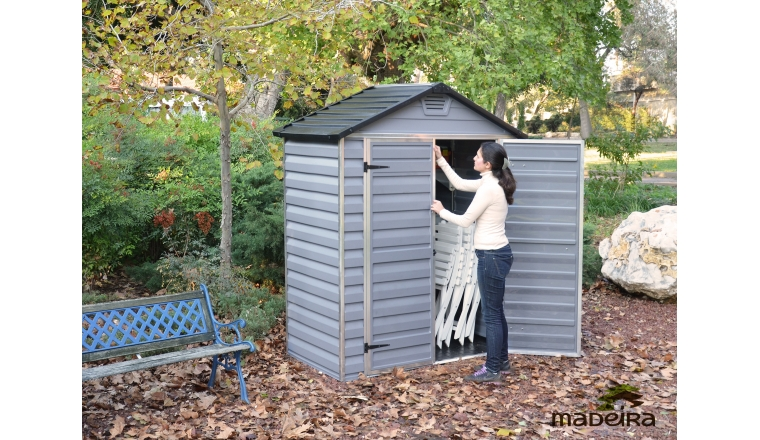 Abri de Jardin en Polycarbonate IZY Madeira 1.43 m² Ref 2297