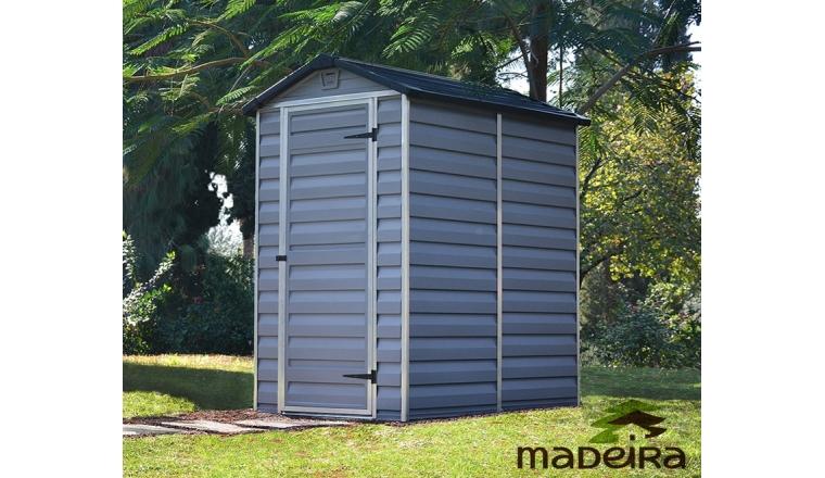 Abri de jardin en Polycarbonate DOLLY Madeira 1.90 m² Ref 2298
