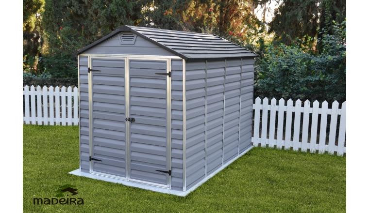 Abri de jardin en polycarbonate andy madeira m ref 2301 - Abri de jardin en polycarbonate ...