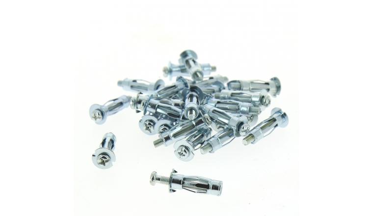 Boîte de 100 Chevilles Mécaniques à Expansion Ø 6 x 37 mm - Scell it