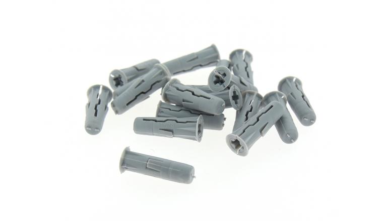 Boîte de  50 Chevilles Fendues Nylon à Expansion Ø 10 x 36 mm