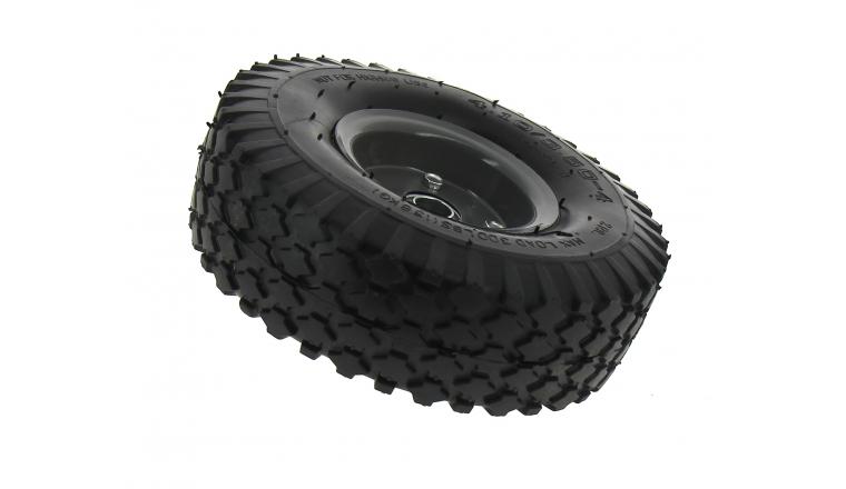 roue pour chariot de transport increvable roulement bille 260 mm. Black Bedroom Furniture Sets. Home Design Ideas