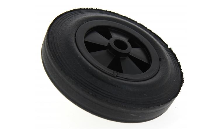 roue pleine pour chariot de transport roulement lisse. Black Bedroom Furniture Sets. Home Design Ideas