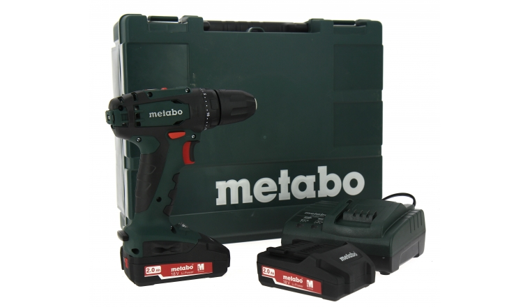 metabo bs 18 li 2x2ah perceuse sans fil 18v metabo. Black Bedroom Furniture Sets. Home Design Ideas