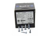 Boîte de 500 Vis à tête Cylindrique Cruciforme Ø 4.8 x 22 mm SCELL-IT