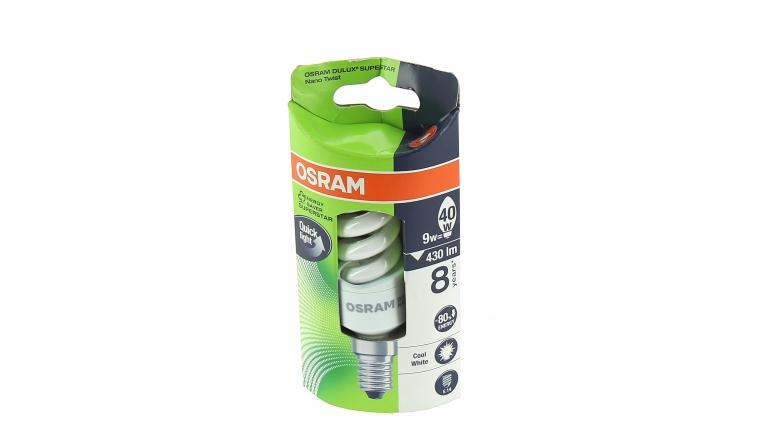 Lampe Fluocompact E14 Tube 40 W DULUX SUPERSTAR - OSRAM