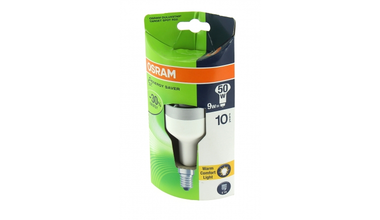 Lampe Fluocompact E14 Spot 50 W DULUXSTAR - OSRAM