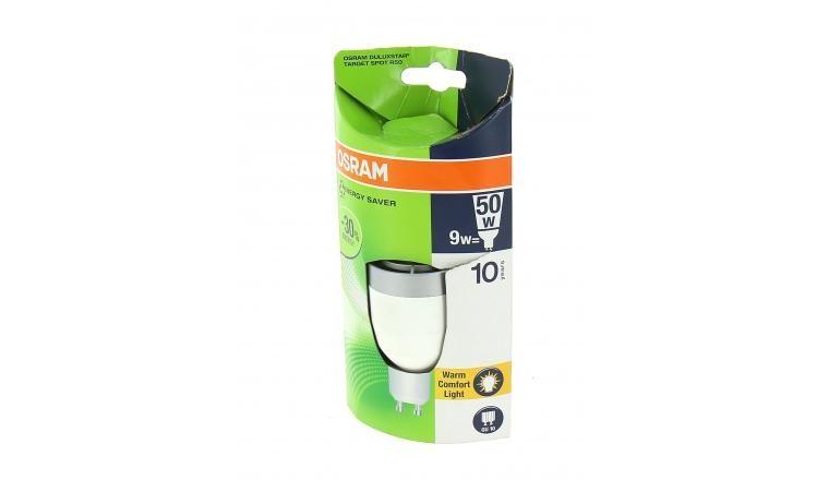 Lampe Fluocompact GU 10 Spot 50 W DULUXSTAR - OSRAM