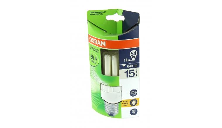 Lampe Fluocompact E27 Tube 54 W DULUX SUPERSTAR - OSRAM