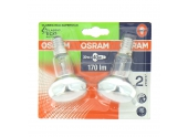 Lot de 2 Lampes Halogène E14 Spot 40 W CLASSIC ECO SUPERSTAR - OSRAM