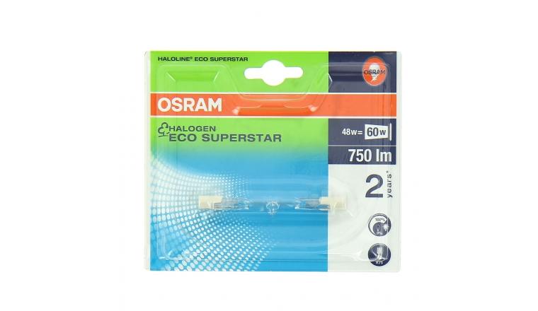 Lampe Halogène R7s Tube 60 W HALOLINE ECO SUPERSTAR - OSRAM
