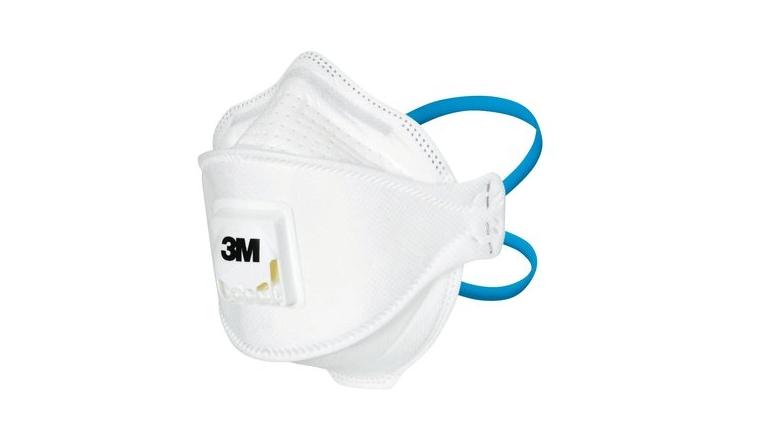 Masque Anti-Poussière muni d\'une Soupape FFP2 - 3M