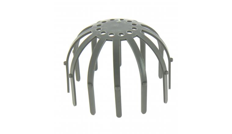 Crapaudine pour gouttière en PVC Ø 100 mm CRAP100 - Girpi