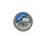 Collier de serrage en acier Largeur 8 mm, Longueur 3 m, Fixation plate muni de 8 fixations ref 4804791 - Boutté
