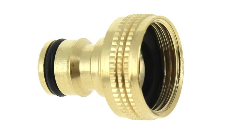 Boutt nez de robinet droit pour raccord rapide for Raccord robinet exterieur