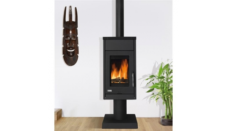 poele a bois 7 5 kw. Black Bedroom Furniture Sets. Home Design Ideas