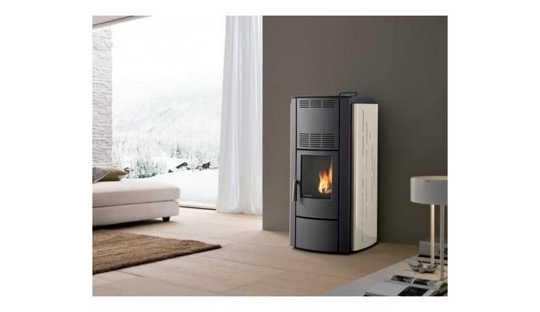 po le granul s ivoire francesca 8 kw palazzetti. Black Bedroom Furniture Sets. Home Design Ideas