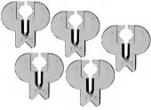 Lot de 5 Pare-Eclats pour Scie Sauteuse Bosch PST et GST - Bosch 2607010079