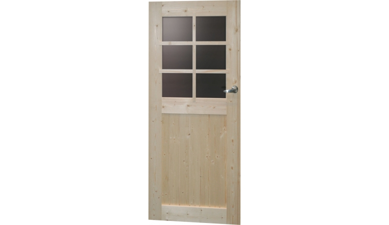 porte de service pour abri de jardin en bois solid. Black Bedroom Furniture Sets. Home Design Ideas