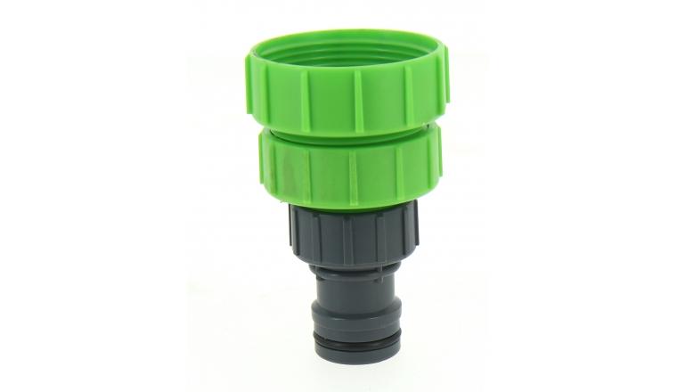 Adaptateur en Plastique Ø 19 mm Filetage 40x49 ou 33x42 ou 26x34 Ref PRA/RB.1296 - Ribimex