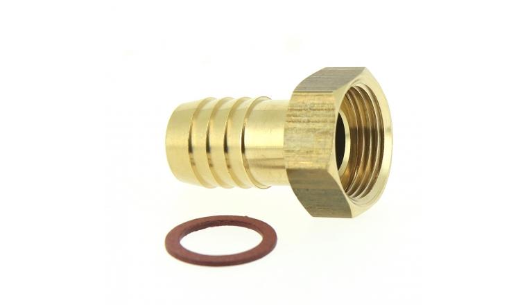 nez de robinet droit embout cannel en laiton 19 mm. Black Bedroom Furniture Sets. Home Design Ideas