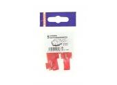 Lot de 5 Cosses Auto-dénudantes Rouge pour Fil de 0.5 à 1 mm² Ref 711084 - Debflex