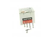 Boîte de 250 Pointes Crantées en Acier Electrozinguée Ø 4 x 35 mm Ref CNA4.0X35 - Simpson Strong-Tie