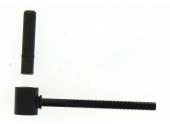 Gond à Scellement Chimique en Acier Noir Ø 14 mm - L130 mm Ref 650250 - Industrielle de Sedan
