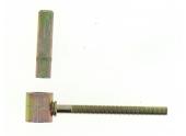 Gond à Scellement Chimique en Acier Bichromaté Ø 16 mm - L 130 mm Ref 650901 - Industrielle de Sedan