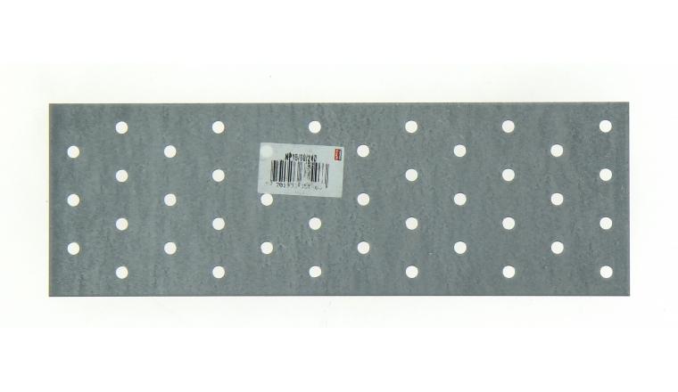 Plaque Perforée en Acier Galvanisé 80x240x1.5 Ref NP15/80/240 - Simpson Strong-Tie