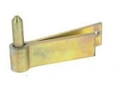 Gond à Sceller Double Feuille en Acier Bichromaté Ø 16 - 40x6 mm - L130 mm Ref 579050 - Industrielle de Sedan
