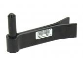 Gond à Sceller Double Feuille en Acier Noir Ø 14 - 30x5 mm - L120 mm Ref 579010 - Industrielle de Sedan