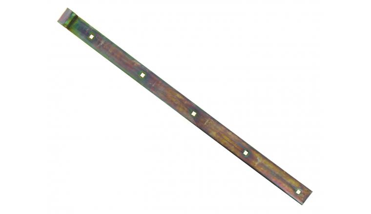 Penture à Bouts Droits en Acier Bichromaté Ø 14 mm - 35x5 mm - L600 mm - Ref 623851 - Industrielle de Sedan
