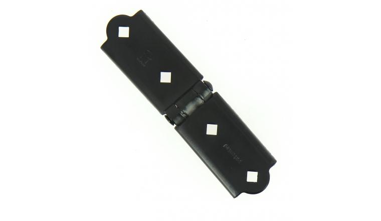 Charnière de section en Acier Noir - 170x45 mm - Ref 110040 - Industrielle de Sedan