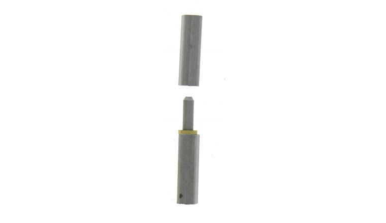 Paumelle à Souder Profilsoud en Acier Brut - 120x20 mm - Ref 544340 - Industrielle de Sedan