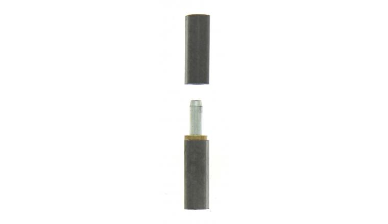 Paumelle à Souder Profilsoud en Acier Brut - 100x20 mm - Ref 544330 - Industrielle de Sedan