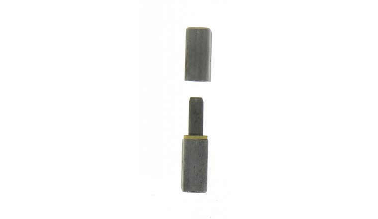 paumelle souder profilsoud en acier brut 60x16 mm. Black Bedroom Furniture Sets. Home Design Ideas