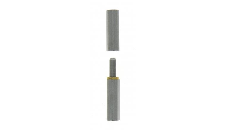 Paumelle à Souder Profilsoud en Acier Brut - 140x25 mm - Ref 544350 - Industrielle de Sedan