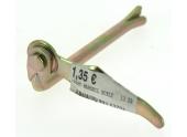 Tourniquet forgés à Sceller en Rond Ø 10 mm en Acier Bichromaté - L 130 mm Ref 1449345