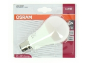 Lampe LED B22d Standard 100 W LED STAR CLASSIC - OSRAM