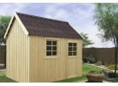 Abri de Jardin en Bois OLERON Solid 6.12 m² S8717