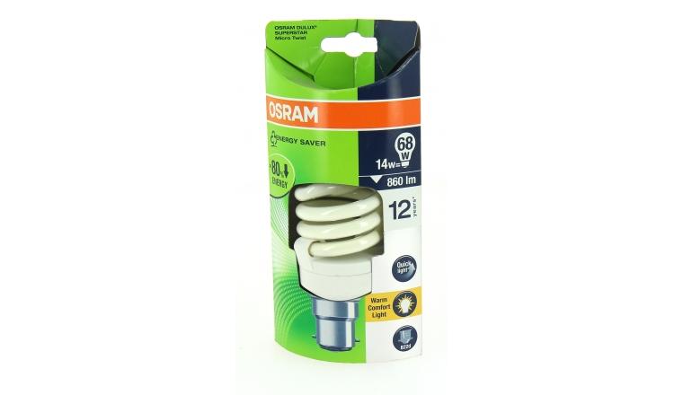 Lampe Fluocompact B22d Tube 68 W DULUX SUPERSTAR Micro Twist - OSRAM
