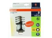 Lot de 3 Lampes Fluocompact E27 Standard 107 W DULUXSTAR Mini Twist - OSRAM